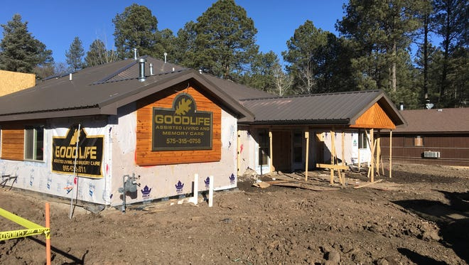 Construction on a new assisted care facility in Ruidoso made steady progress in February.