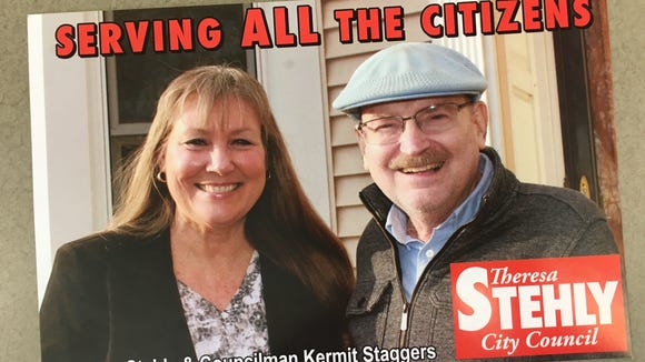 At-large candidate Theresa Stehly this week distributed