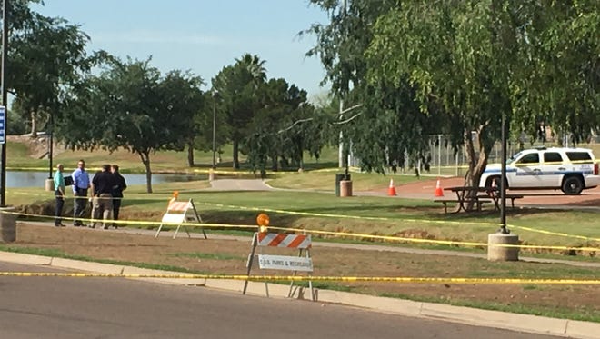 Scottsdale police were investigating a body found in a canal about 6:20 a.m. on May 11, 2016. The body was found by a jogger just south of 7700 E. Roosevelt St., in the area of Vista Del Camino Park.