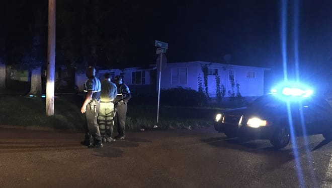 The Jackson/Hinds County SWAT team was on Gibralter Drive to serve a high-risk search warrant on Thursday night.
