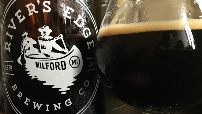 Dirty Frank Stout, from River's Edge Brewing Co. in Milford, took a gold medal in the 2016 Great American Beer Festival.