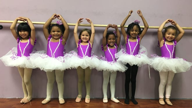 """Dancers from Dixon's Dance Academy of Vineland are preparing to perform in the academy's 12th annual recital, """"Time to Dance,"""" at 6 p.m. June 24 and 25 at the Landis Theater in Vineland."""