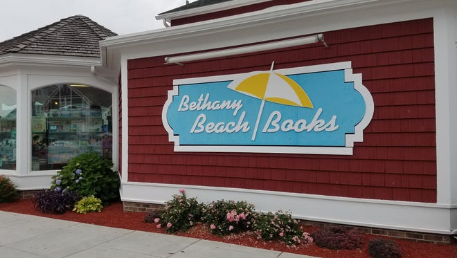 Bethany Beach Books is located on Garfield Street right off of the Bethany Beach Boardwalk.