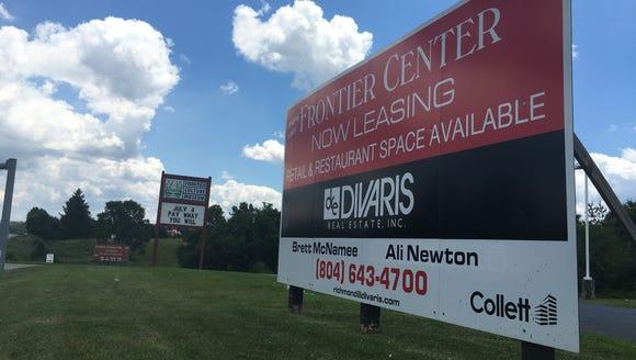 Staunton Frontier LLC, a 42-acre retail, restaurants