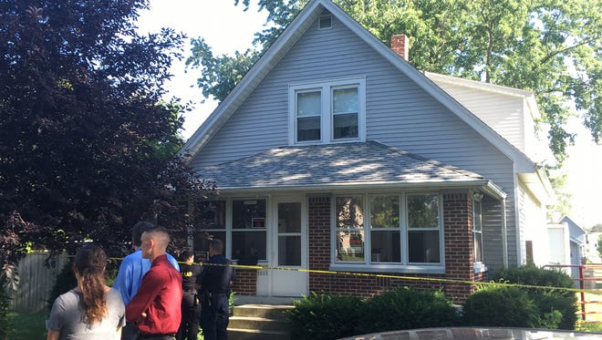 IMPD is investigating a woman's death after her son found her dead in her residence.