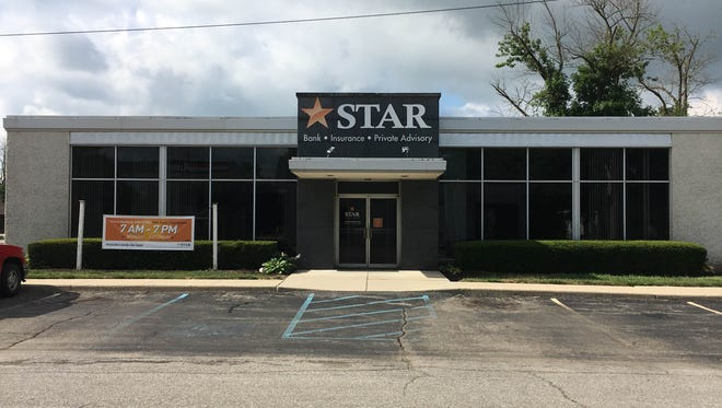 The former Star Financial Bank in Gaston. Wes-Del Community Schools is currently changing the building to be a preschool, opening in August.
