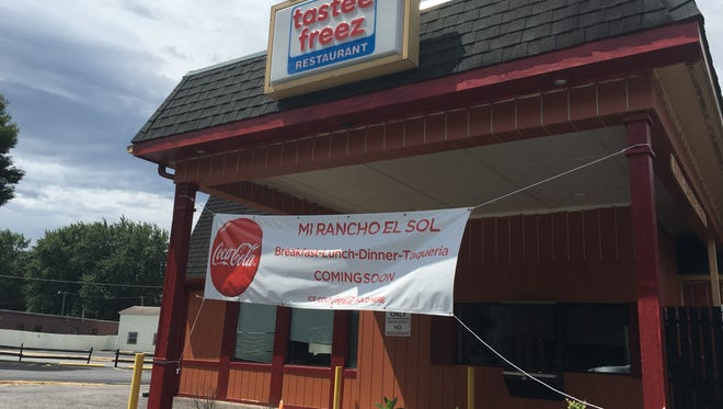 A new Mexican restaurant is set to open at the former Tastee Freez in Waynesboro at the corner of Main and Broad streets.