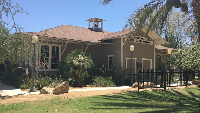 The 1909 one-room schoolhouse that now sits at the Coachella Valley History Museum in Indio was approved Tuesday as a Riverside County Historic Landmark.
