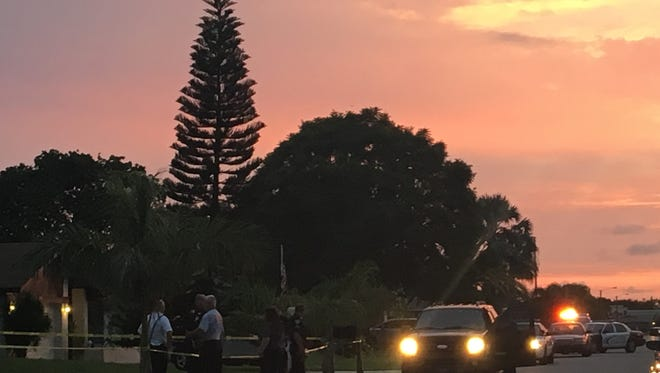 Cape Coral police are investigating a death in  southeast Cape Coral. Preliminary investigation  suggest a person died after a compressed air/canister exploded.