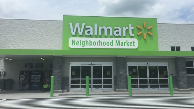 The new Wal-Mart Neighborhood Market in Waynesboro.