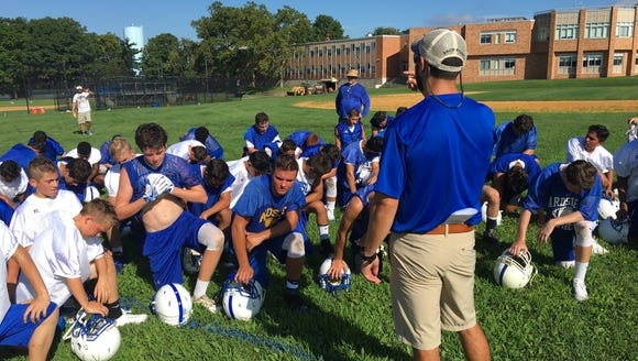 Ardsley hit the field for the first practice of the