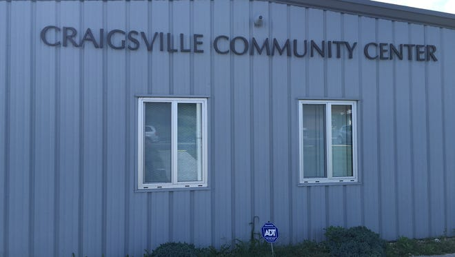 The Craigsville Community Center and Town Hall.