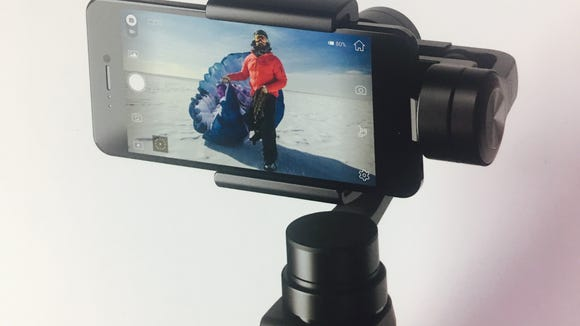 Osmo Mobile is a new rig bringing drone like camera