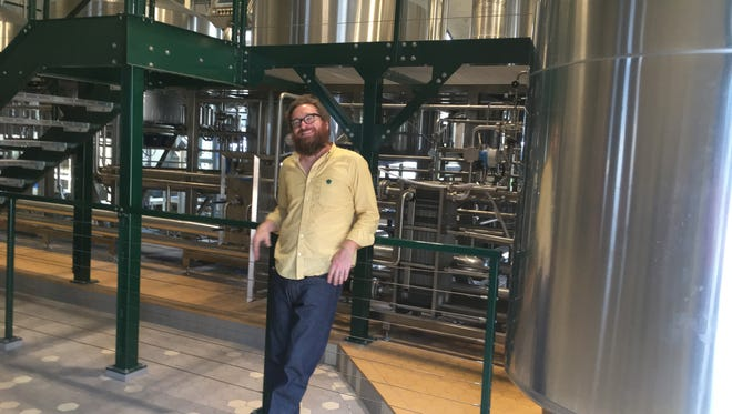 Former brewmaster in the Peekskill brewery, Jeff O'Neil, opens his own brewery called Industrial Arts in Rockland