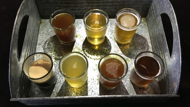 Beer from Red Tandem Brewery of Oxnard will be served with a dish from NOW Ventura during a California Beer Festival beer-and-food-pairing competition Sept. 16 at Ventura City Hall.
