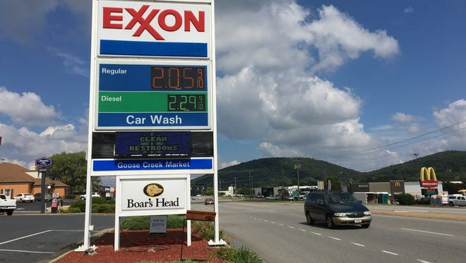 Gas prices in Virginia jump 10 cents in less than a week after a leak in the Colonial Pipeline in Alabama cause it to be shut off. The pipeline brings gasoline from Texas to North Carolina.