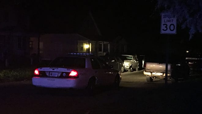 A woman was taken to Eskenazi Hospital in critical condition after she was shot in the head Wednesday night. Indianapolis homicide detectives are investigating the scene.