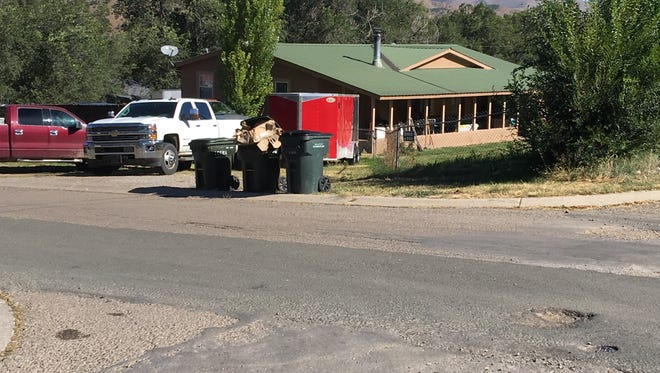 Two cases charging building permit and zoning code violations at this Ruidoso Downs property appear to have languished unresolved.