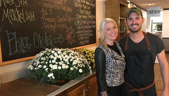 Siblings Tara and Tim Essary opened Cahawba House in