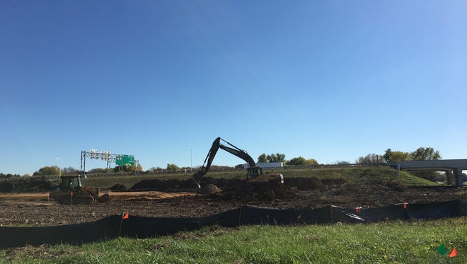 Site preparation is underway for a new building on West American Drive in Fox Crossing.