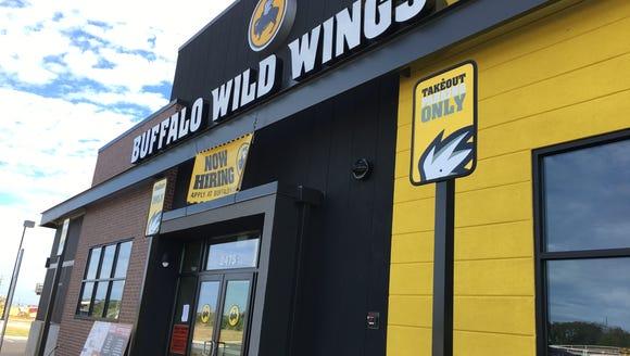 Buffalo Wild Wings in Prattville is now hiring ahead