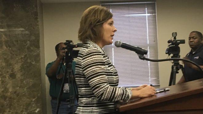 Alabama State Board of Education member Mary Scott Hunter on November 10, 2016.