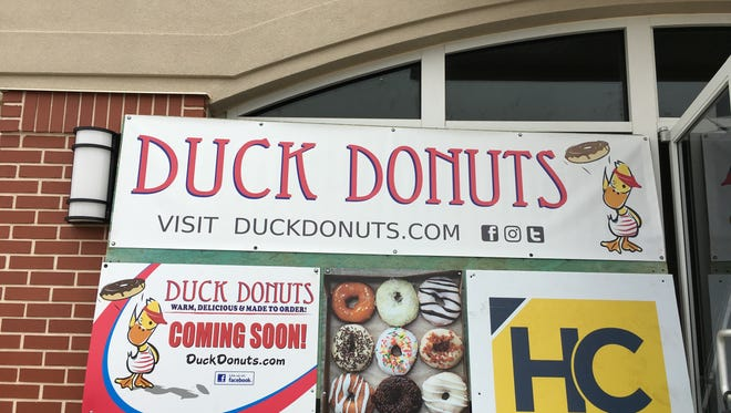 Duck Donuts to open soon at Meridian Center at the corner of Northshore Drive and Kingston Pike