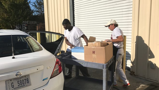Offenders at MDOC's Gulfport field office have spent the last few weeks amassing 100 turkeys and more than 2,000 canned and dry goods to take to a local homeless shelter for Thanksgiving.