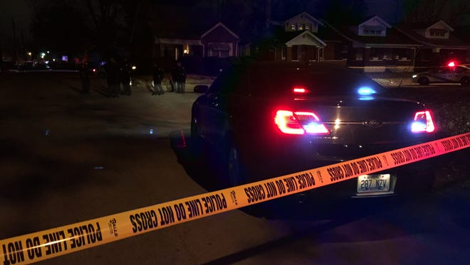 LMPD is on the scene of a possible homicide on 25th and Burwell streets.