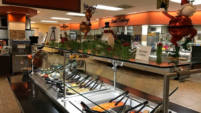 Poudre Valley Hospital's Cafe 1024 is an affordable lunch spot.