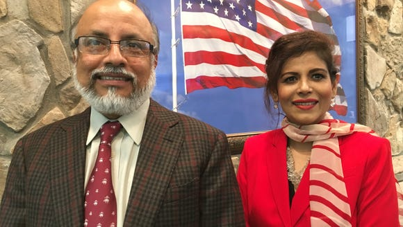 Doctors Shaikh Wahid and Irene Bailey recently opened