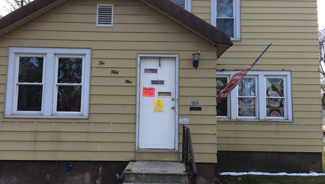 The single family home in the 1000 block of Shawano Avenue on the city's west side was condemned by the Brown County Health Department Wednesday morning for dangerous levels of mercury.