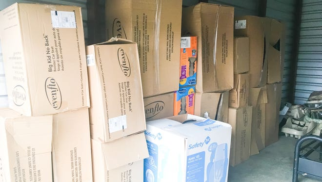BRMC recently gave a donation of two truck loads of brand new car seats to The CALL. The organization is thankful for the community support for children in foster care, according to Tenille Rauls, Baxter County coordinator of The CALL.
