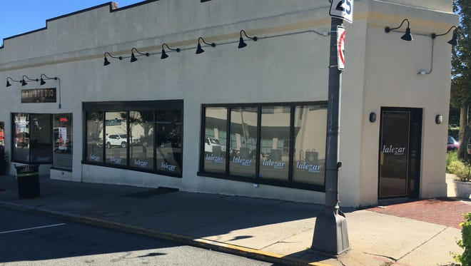 The new Montclair location of Jack's Seafood Shack, pre construction.