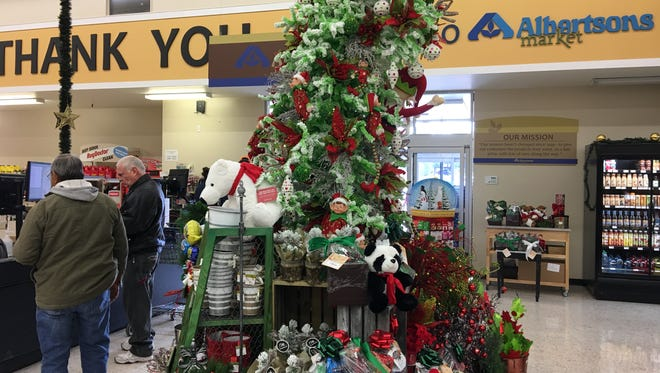 Albertson's invites customers to celebrate the holidays Saturday from 11 a.m. to 2 p.m. The store will lay out tastes of premium foods and drinks.