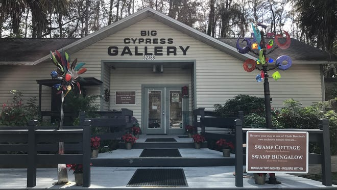 Big Cypress Gallery is home to the work of Clyde Butcher, an artist internationally-renowned for his landscape photographs.