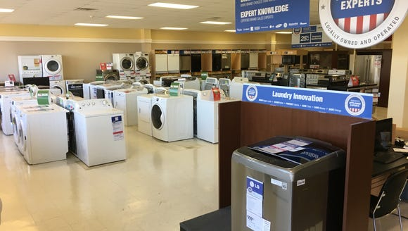 The Sears Hometown Store in Prattville carries appliances,