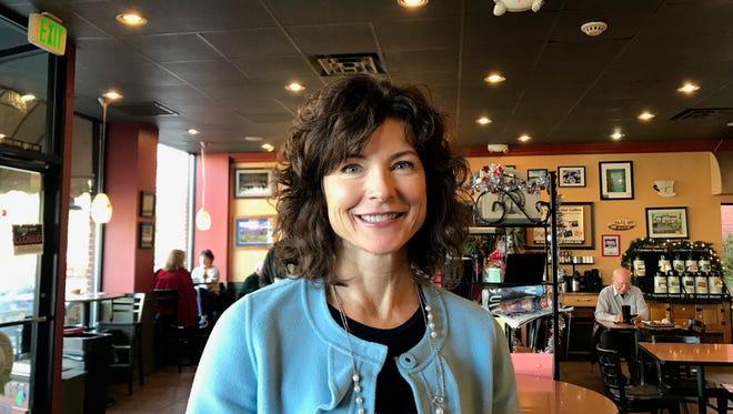 A photo of state Sen. Heidi Gansert, R-Reno.