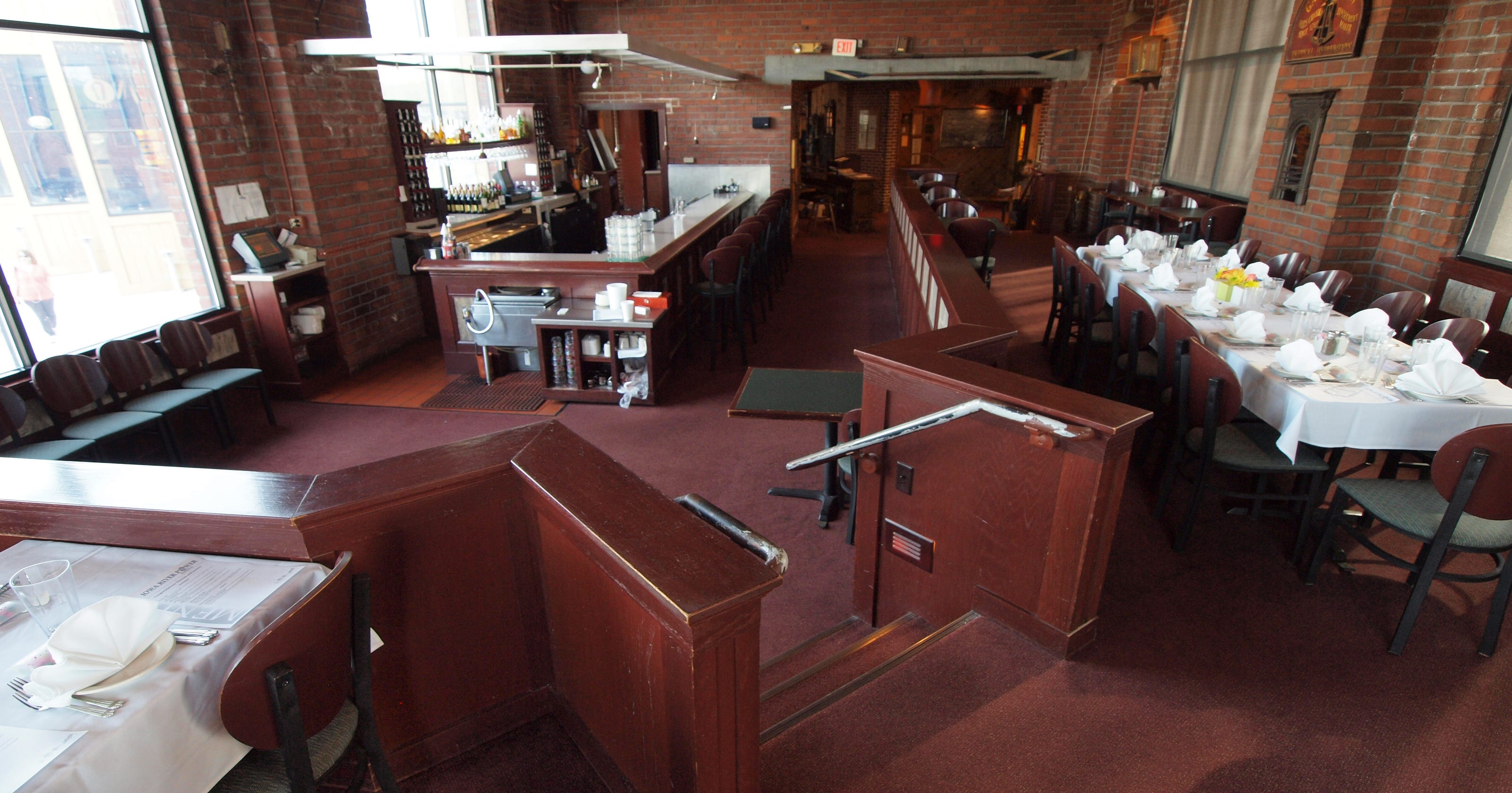 Iowa River Power Restaurant Steeped In History