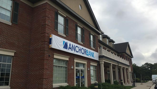 Former AnchorBank branches, like this one in Brookfield, have been converted to the Old National Bank brand. Indiana-based Old National bought Anchor this year.