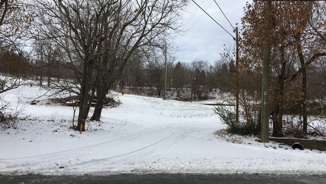 The former site of the Staunton Manor Nursing Home on Englewood Drive in Staunton, Va., which Staunton City Council will vote on whether to rezone for the construction of apartments and retail at its meeting on Jan. 12, 2017.