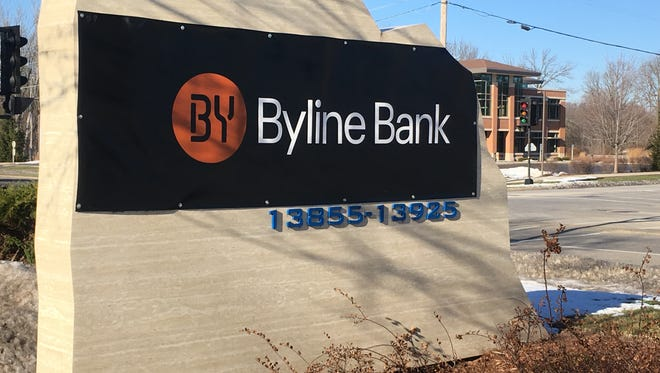 Chicago-based Byline Bank, which acquired Brookfield's Ridgestone Bank last October, was the top SBA lender among banks in Wisconsin in fiscal 2017.