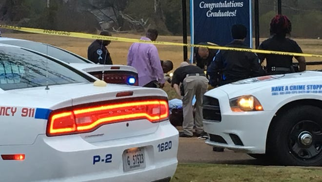 Jackson Police Department investigators are probing a homicide that took place early Friday morning. A body was found at the corner of John R. Lynch Street and University Boulevard.