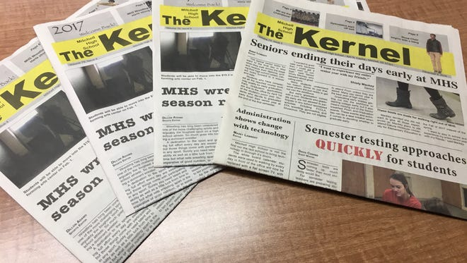 The Kernel is the student newspaper at Mitchell High School.