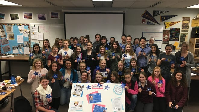 The Windsor High School Key Club is raising funds for Make-A-Wish Colorado.