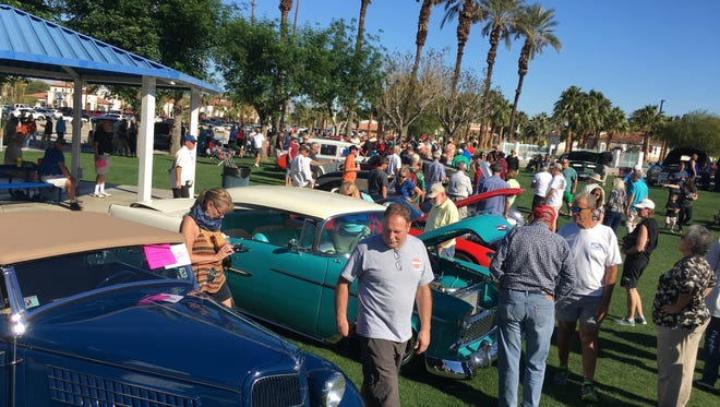 The Greater Coachella Valley Chamber of Commerce hosted its 11th annual Hot Rod, Classic & Custom Car Show at La Quinta Community Park on Saturday, February 4, 2017.