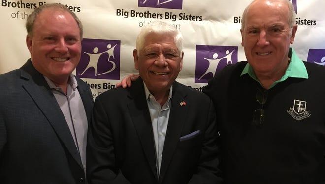 (L-R) Bob Iglehart, Tournament Chair, Honoree Lee Trevino, and Jack Higgins, Committee member.