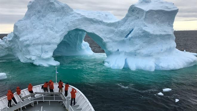 Dave Parsons visited Antarctica aboard the National Geographic Explorer ship.