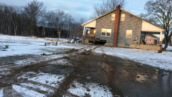 An SUV crashed into a Mount Pleasant Township residence on Feb. 9.
