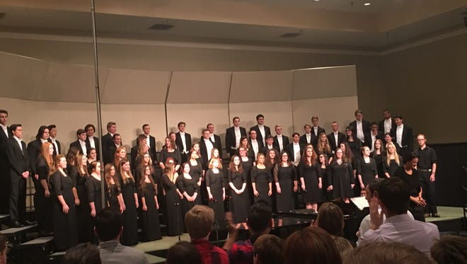 Ozark High School Chorale performed at the 2017 Missouri Music Educators Convention on Jan. 27.
